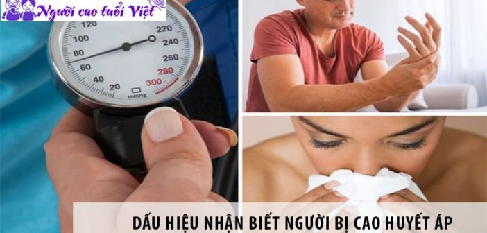 4 dấu hiệu nhận biết người bị cao huyết áp