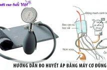 Hướng dẫn đo huyết áp bằng máy cơ đúng cách