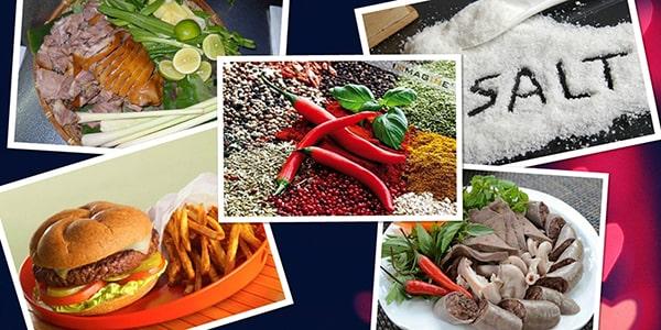 Các thực phẩm người bệnh cao huyết áp nên kiêng