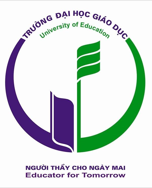 Logo đại học Giáo dục