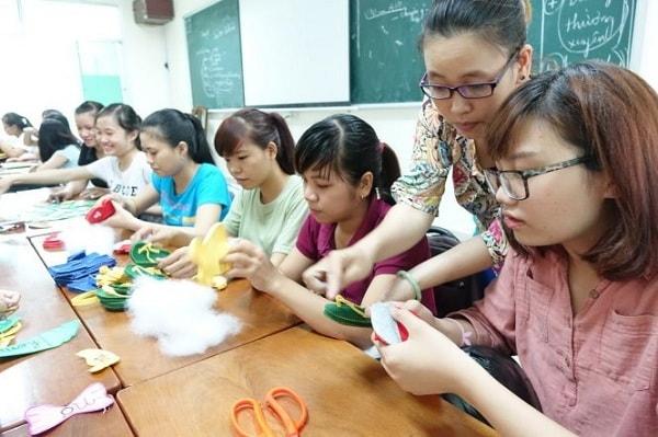 Đào tạo giáo viên mầm non tại trường Đại học thủ đô Hà Nội