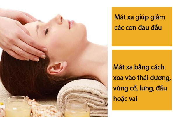 Mát xa giúp bạn ít bị đau đầu hơn
