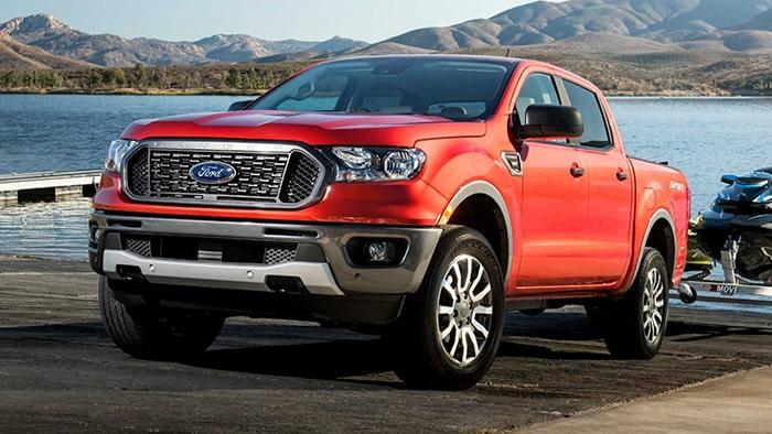 Xe bán tải Ford Ranger tiện lợi
