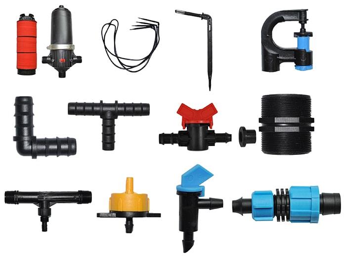 Những thiết bị quan trọng trong một hệ thống ống tưới nhỏ giọt