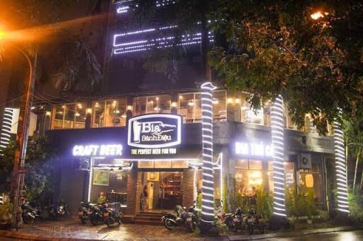 Nhà hàng bia thủ công tại Hà Nội