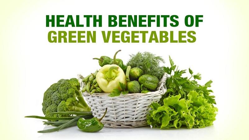 Người bị viêm thực quản trào ngược nên ăn nhiều rau củ tươi