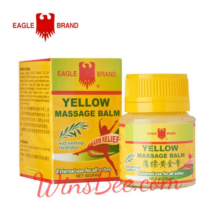 Dầu nóng Singapore Yellow Massage Balm