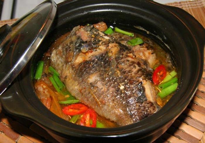 Cá rô phi kho tiêu thơm ngon bổ dưỡng