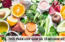 """Những thực phẩm """"thần kỳ"""" giúp giảm sắc tố Melanin hiệu quả"""