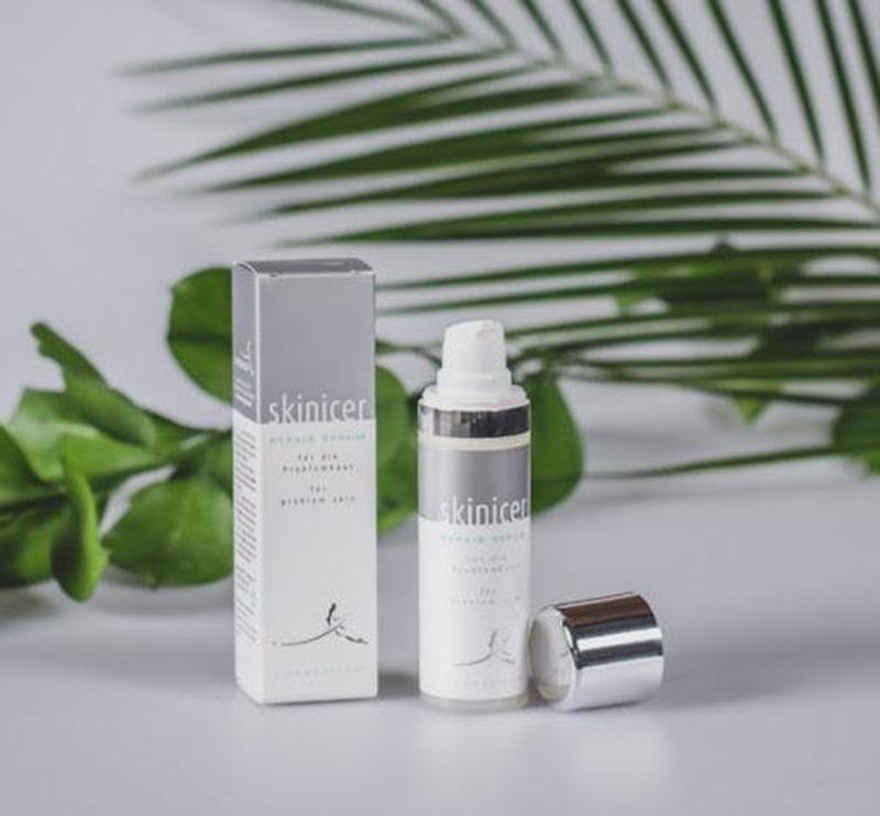 Skinicer Repair Serum có tác dụng trị mụn và kháng khuẩn hiệu quả