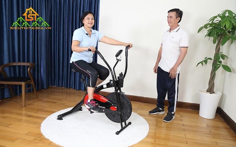 Lựa chọn sử dụng máy tập thể dục đạp xe phù hợp cơ thể